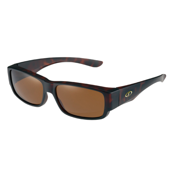 アウトレット SPALDING SPO-203 BR オーバーグラス 偏光レンズモデル