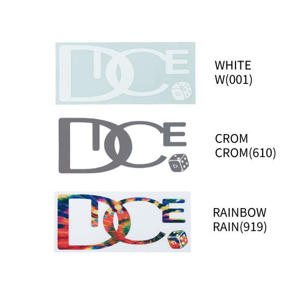 DICE STICKER ダイカットロゴステッカー Lサイズ 全3色