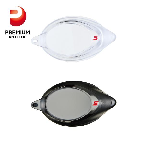 度付きレンズ SRXCL-NPAF クッション付き片眼レンズ(全2色・6度数)
