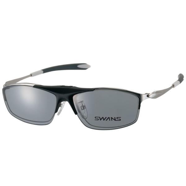 スポーツメガネ SWF900-0000CP SIL (度付きレンズセット) 専用クリップオン付き