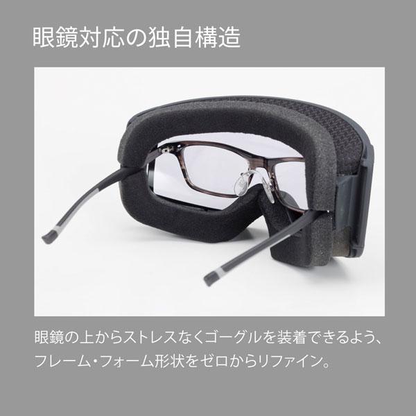 RACAN-MDH-CU SMBK ラカン ULTRA調光レンズ メガネ対応