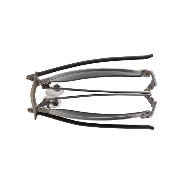 アウトレット割引 SPF-201 MBK SPALDING(度付クリアレンズセット) 折りたたみメガネ