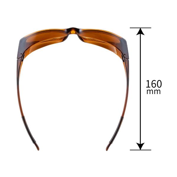 OG4-0751 SCLA オーバーグラス 偏光ミラーレンズモデル