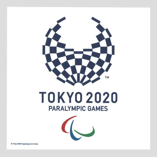 【30%OFF】東京2020パラリンピックエンブレム TKY10-PL1 レンズクリーナークロス
