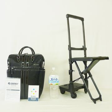 D-310ルーマ�椅子付(L21)   ブラック×ブラック