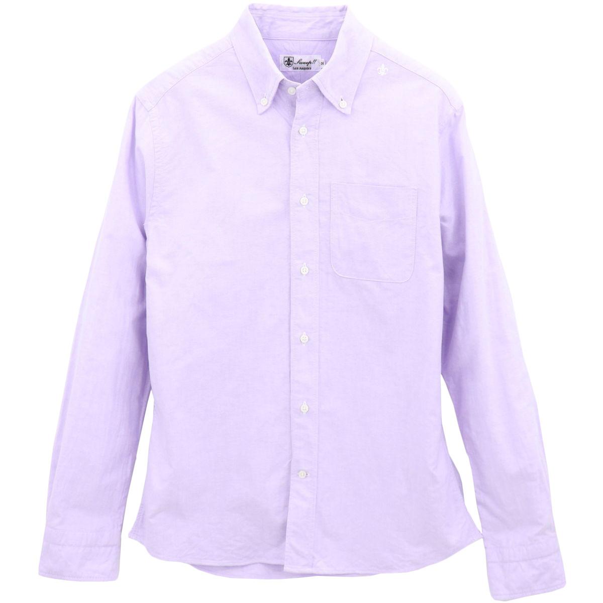 ★定番 オックスフォード ボタンダウンシャツ 長袖(10colors)