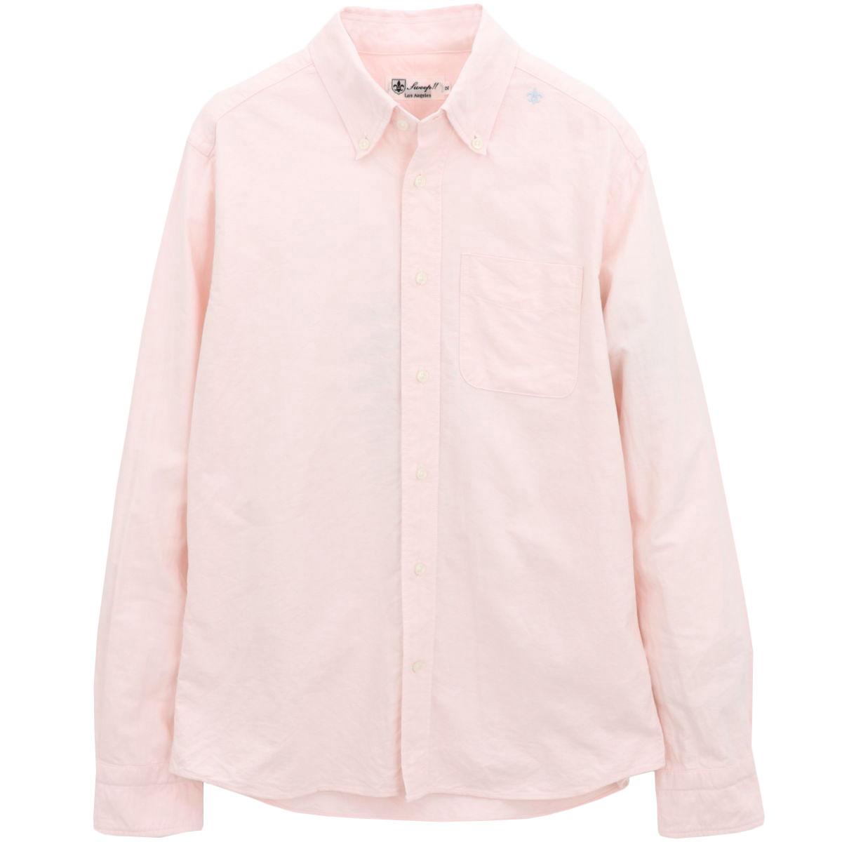 ★定番 THE STANDARD SHIRT オックスフォード ボタンダウンシャツ 長袖 (10colors)