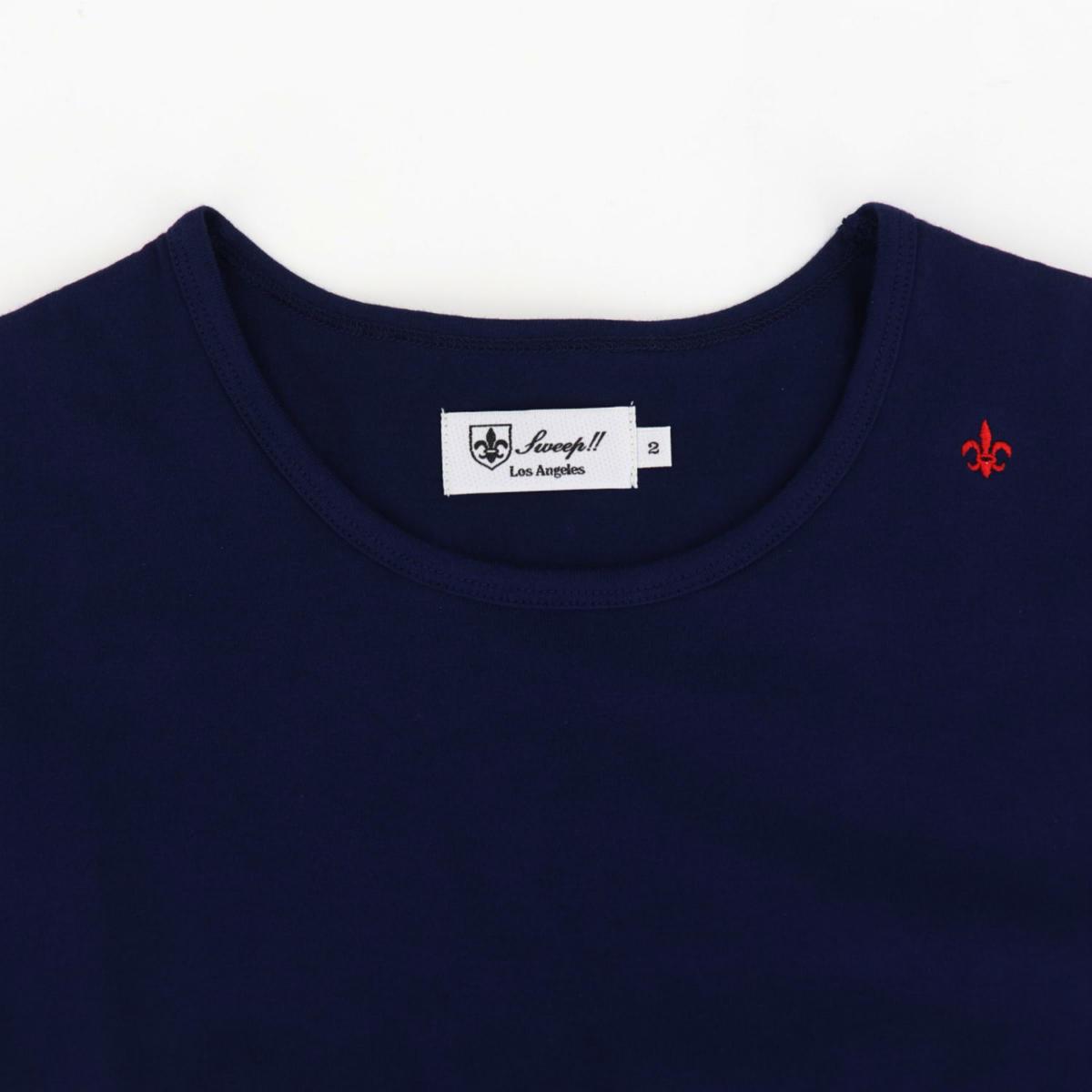 クルーネックTシャツ NAVY(ネイビー)