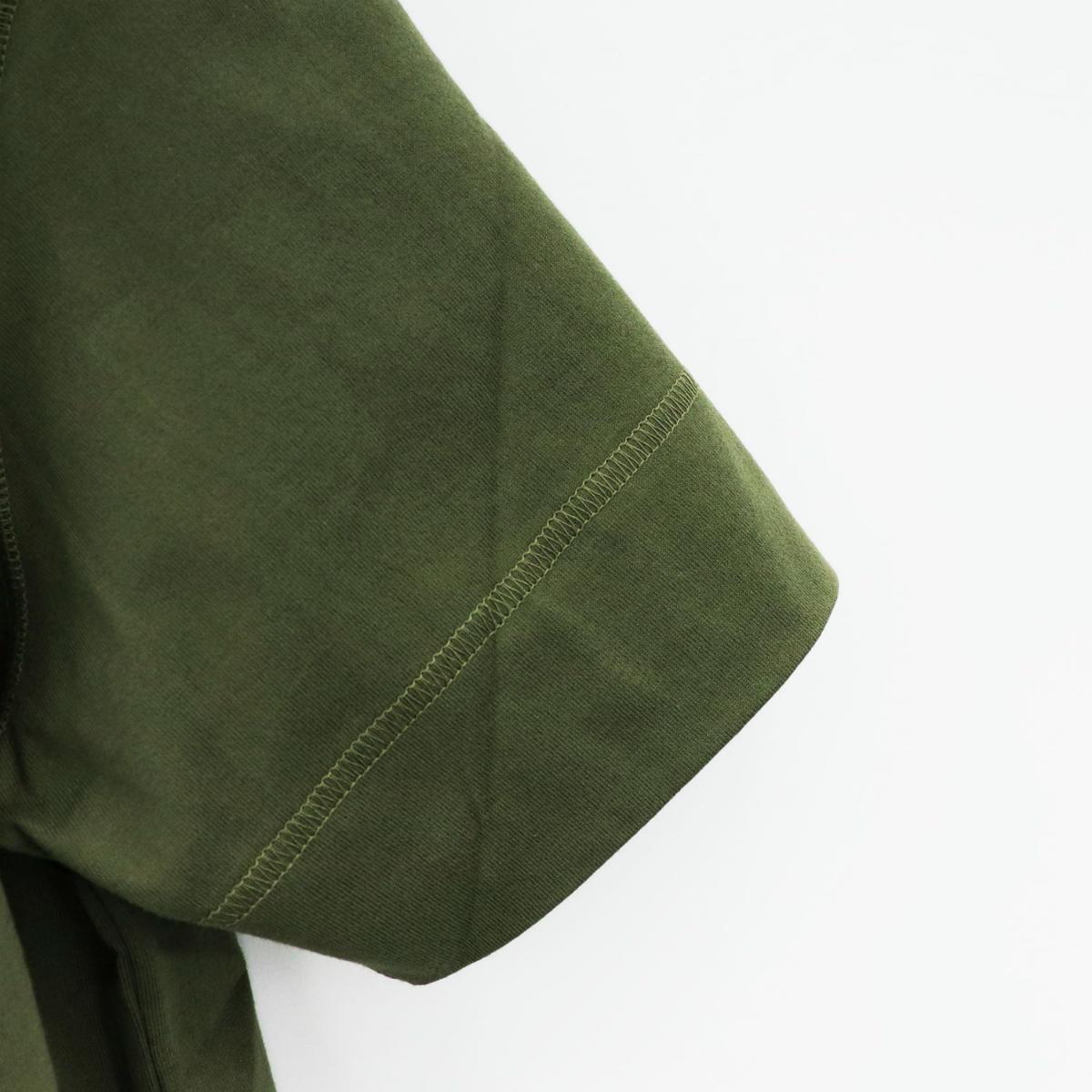 クルーネックTシャツ KHAKI(カーキ)