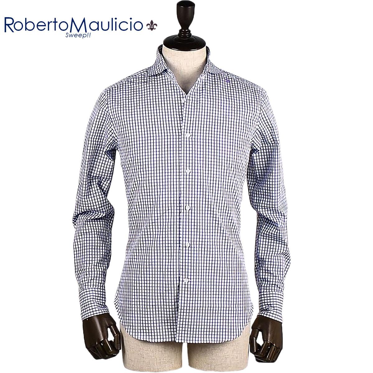 Roberto Maulicio Sweep!! / COTTON CHECK(WHITE)