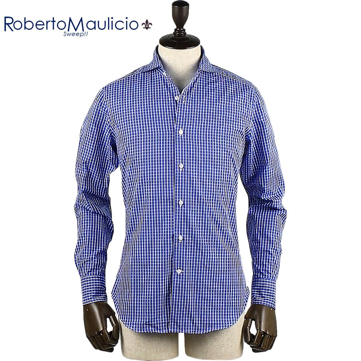 Roberto Maulicio Sweep!! / COTTON CHECK(BLUE)