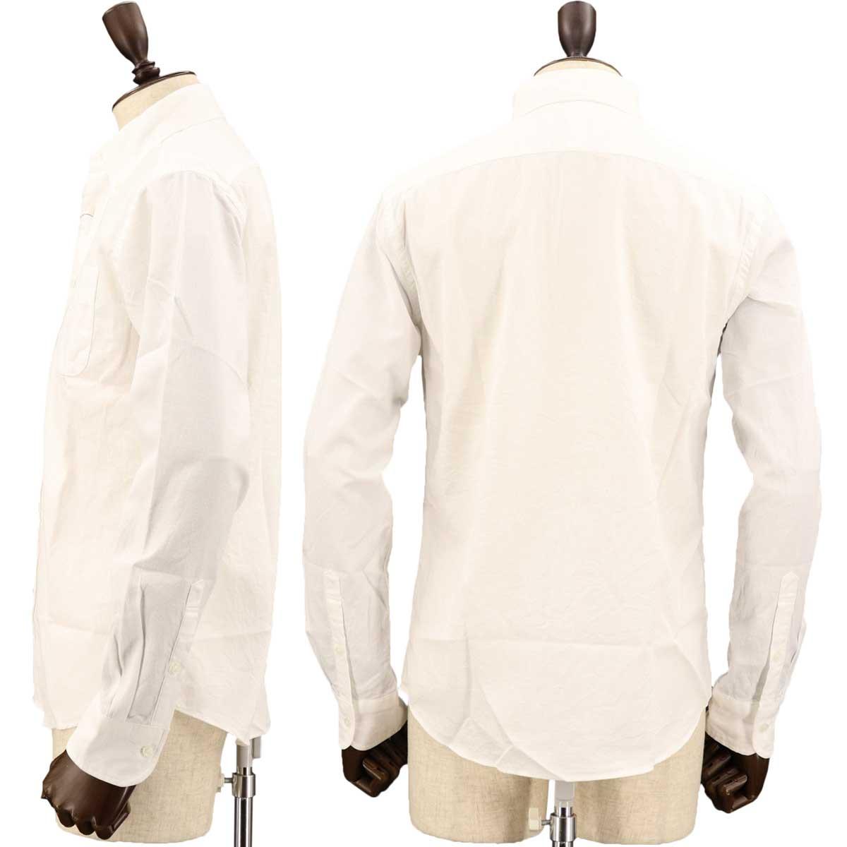 【50%OFF】サーフワッフル ボタンダウンシャツ(WHITE)