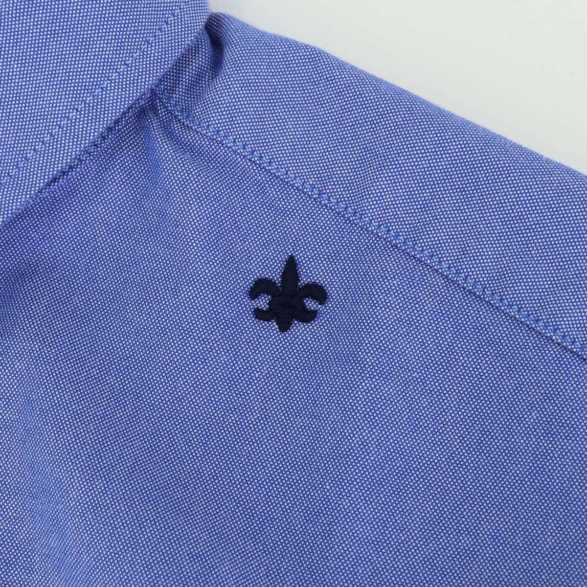 ★定番 オックスフォード ちびえりシャツ(BLUE)