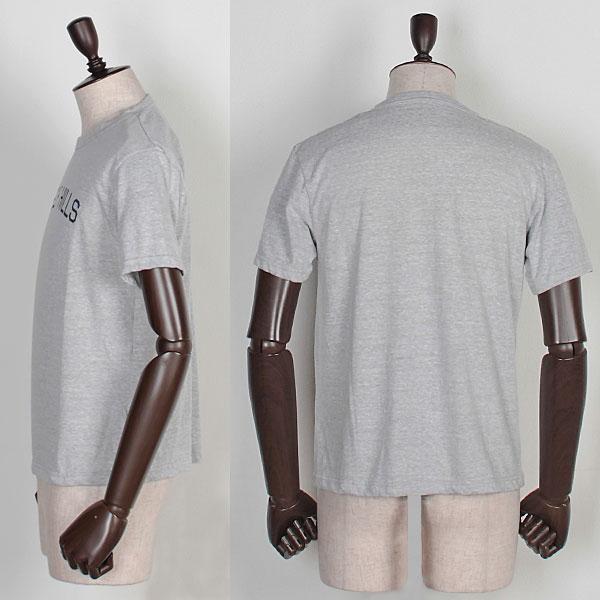 ロゴ入り クルーネックTシャツ(GRAY)