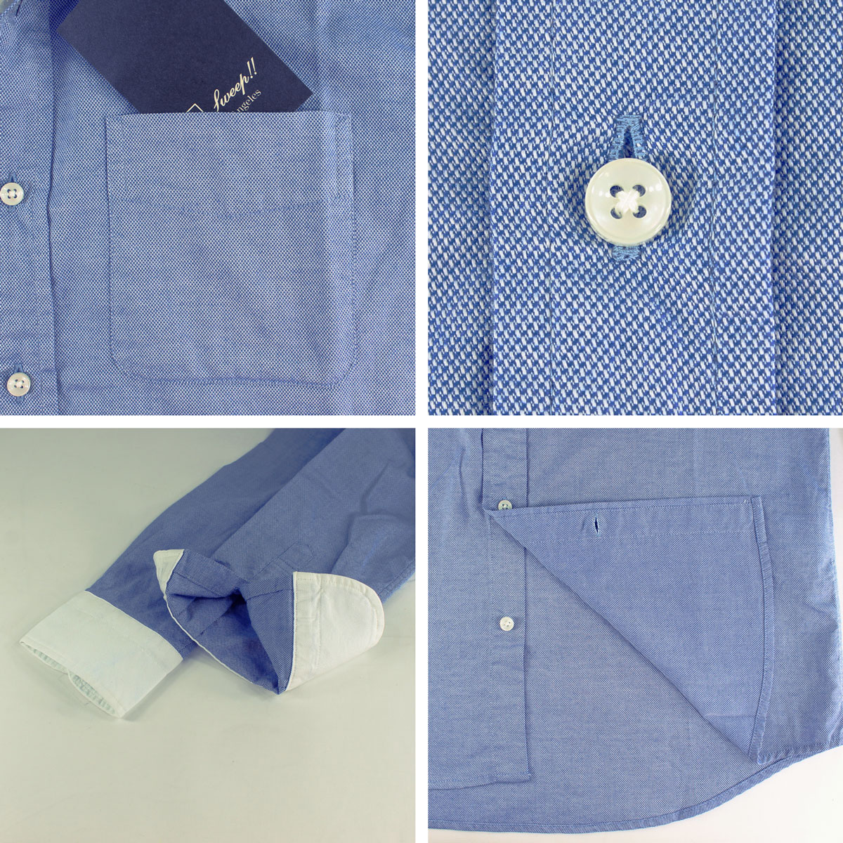 ROYAL-OXFORD CLERIC(BLUE)