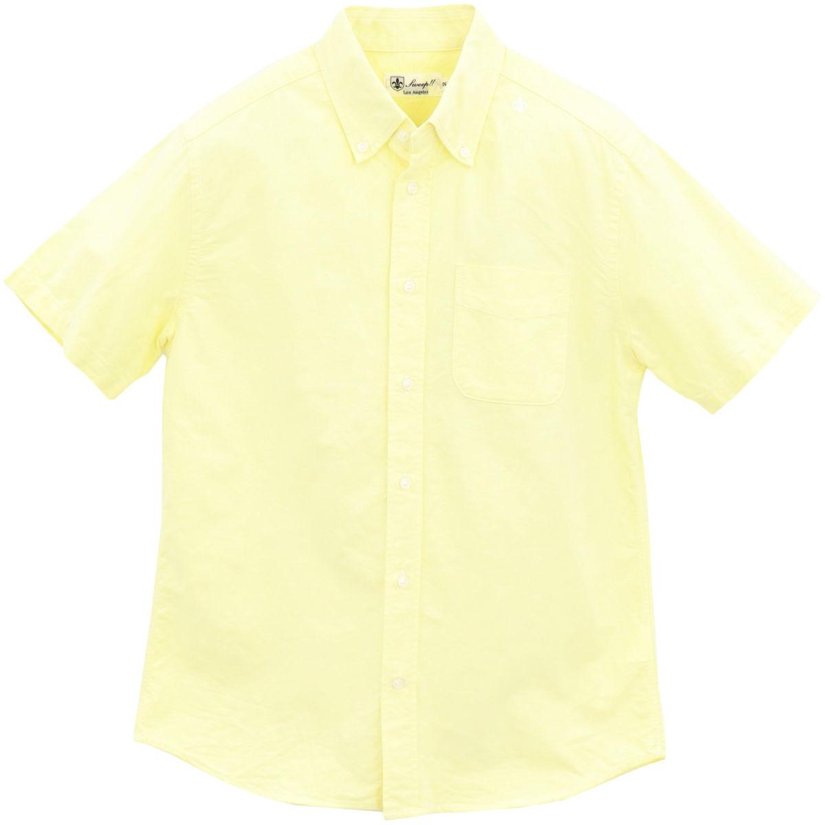 ★定番 オックスフォード ボタンダウンシャツ 半袖 NEW!!(YELLOW)