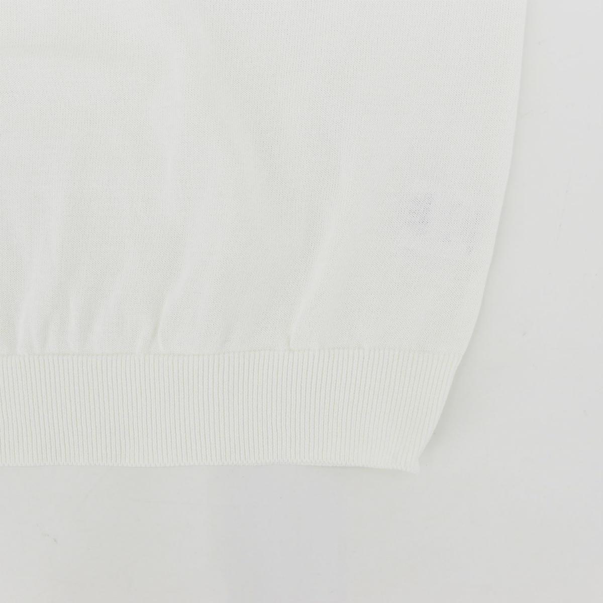 クルーネック サマーニットT WHITE(ホワイト)