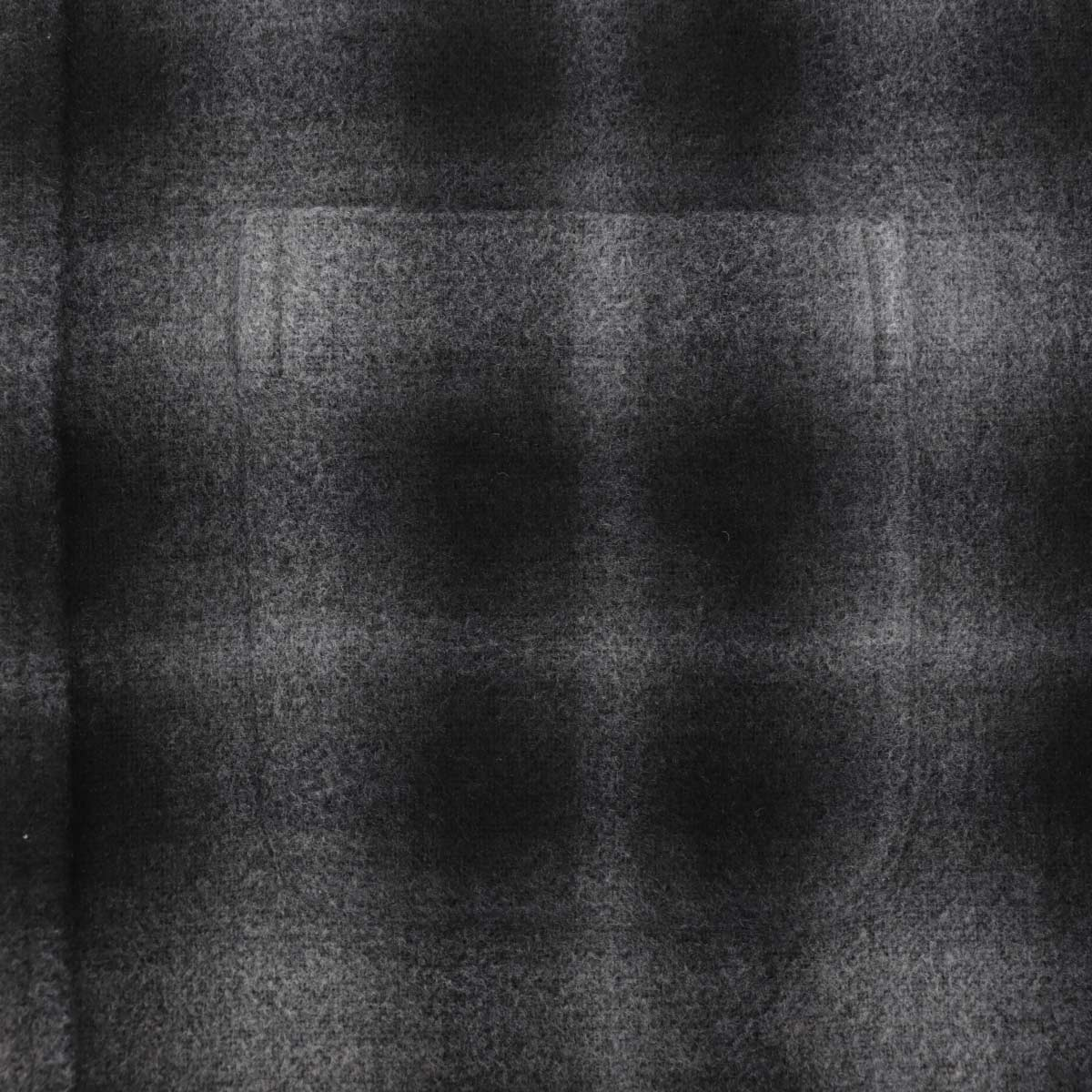 フランネル オンブレチェック ボタンダウンシャツ SL130018 BLACK (ブラック)