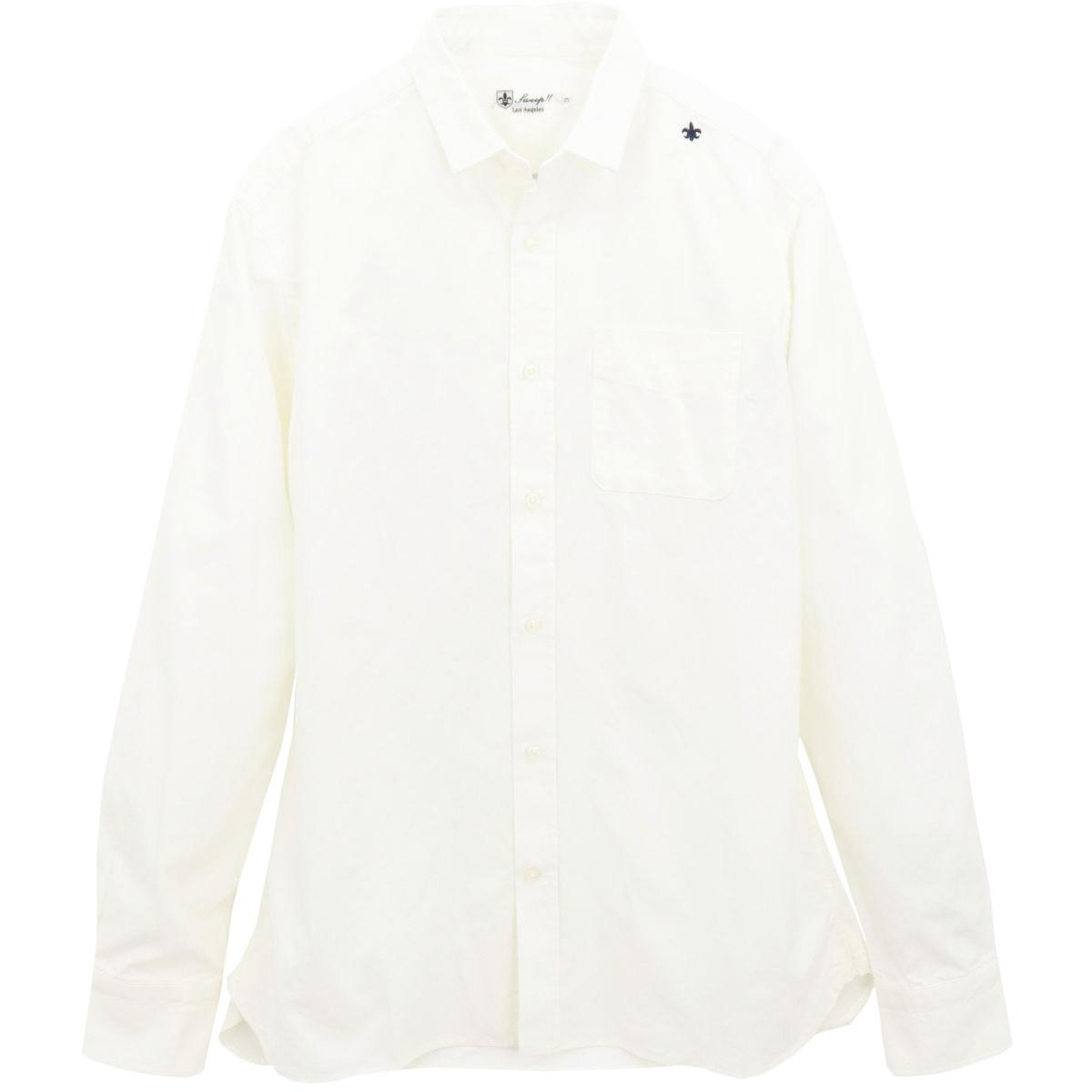 ★定番 オックスフォード ちびえりシャツ(WHITE)