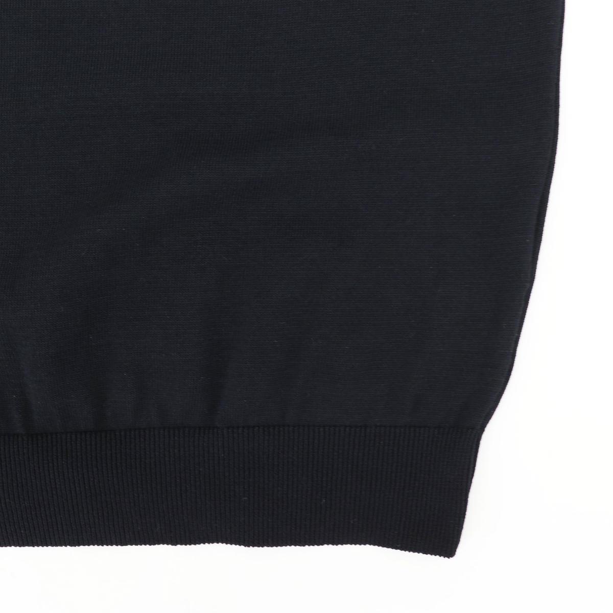 スキッパーポロ サマーニット BLACK(ブラック)
