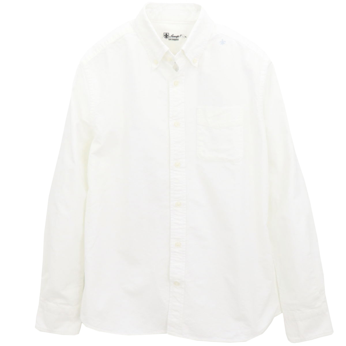 OXFORD BACK-PRINT(WHITE)