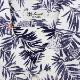 リゾートライン:シアサッカー ボタニカルプリント オープンカラーシャツ SL140004 WHITE(ホワイト)