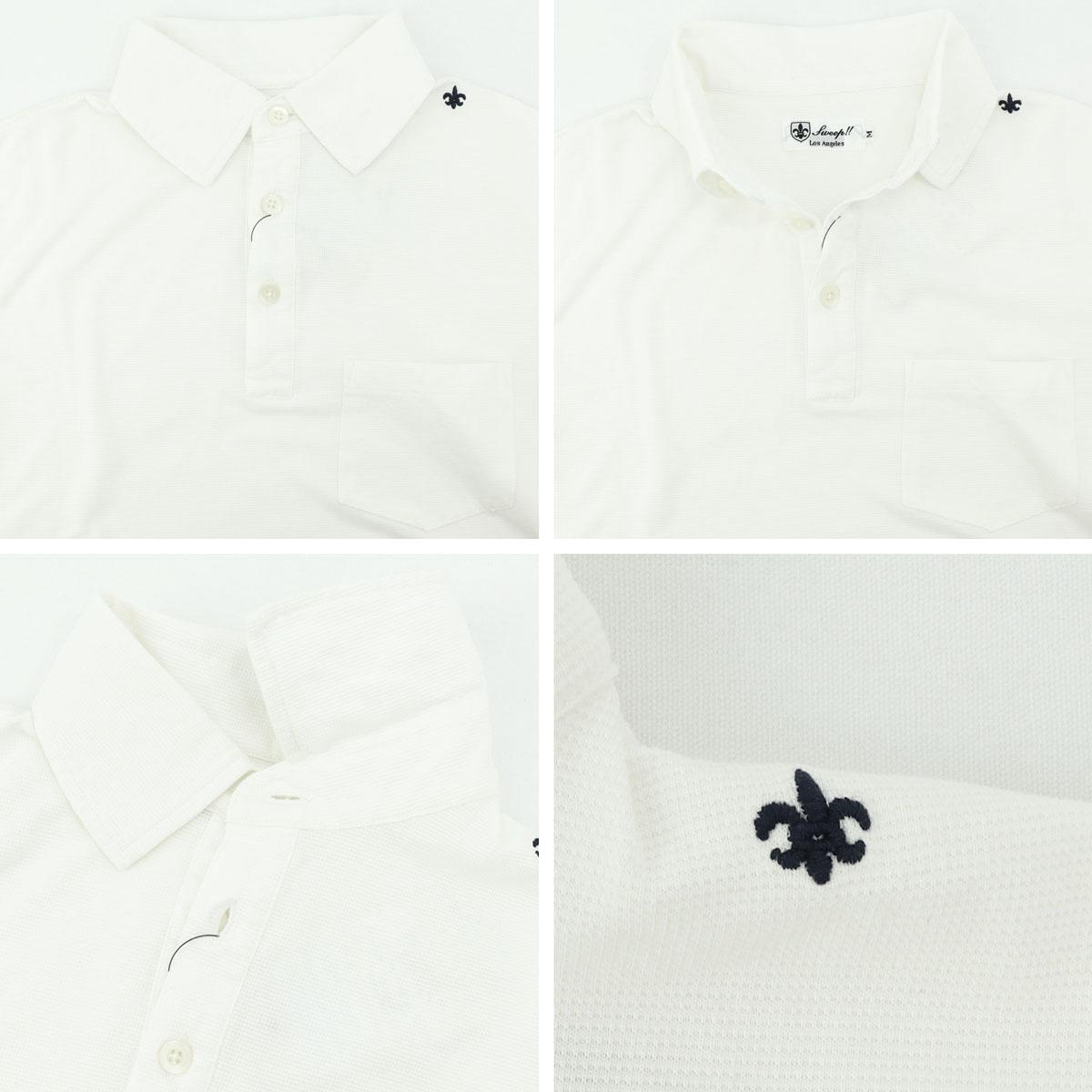 サーフニット レギュラーカラー ポロシャツ(WHITE)