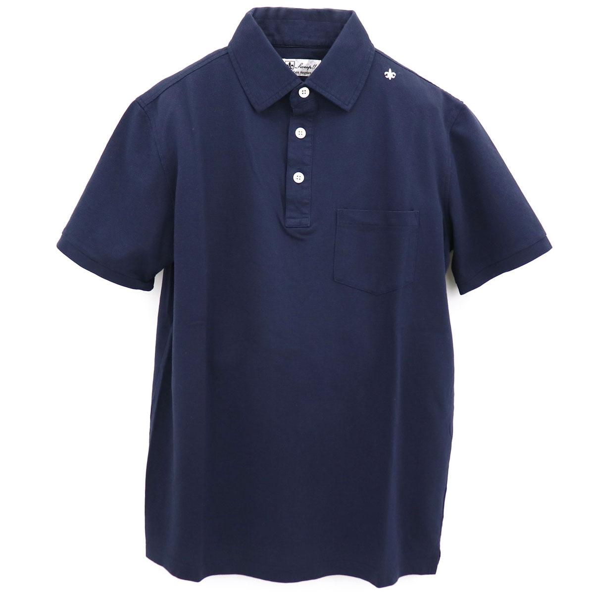 サーフニット レギュラーカラー ポロシャツ(NAVY)