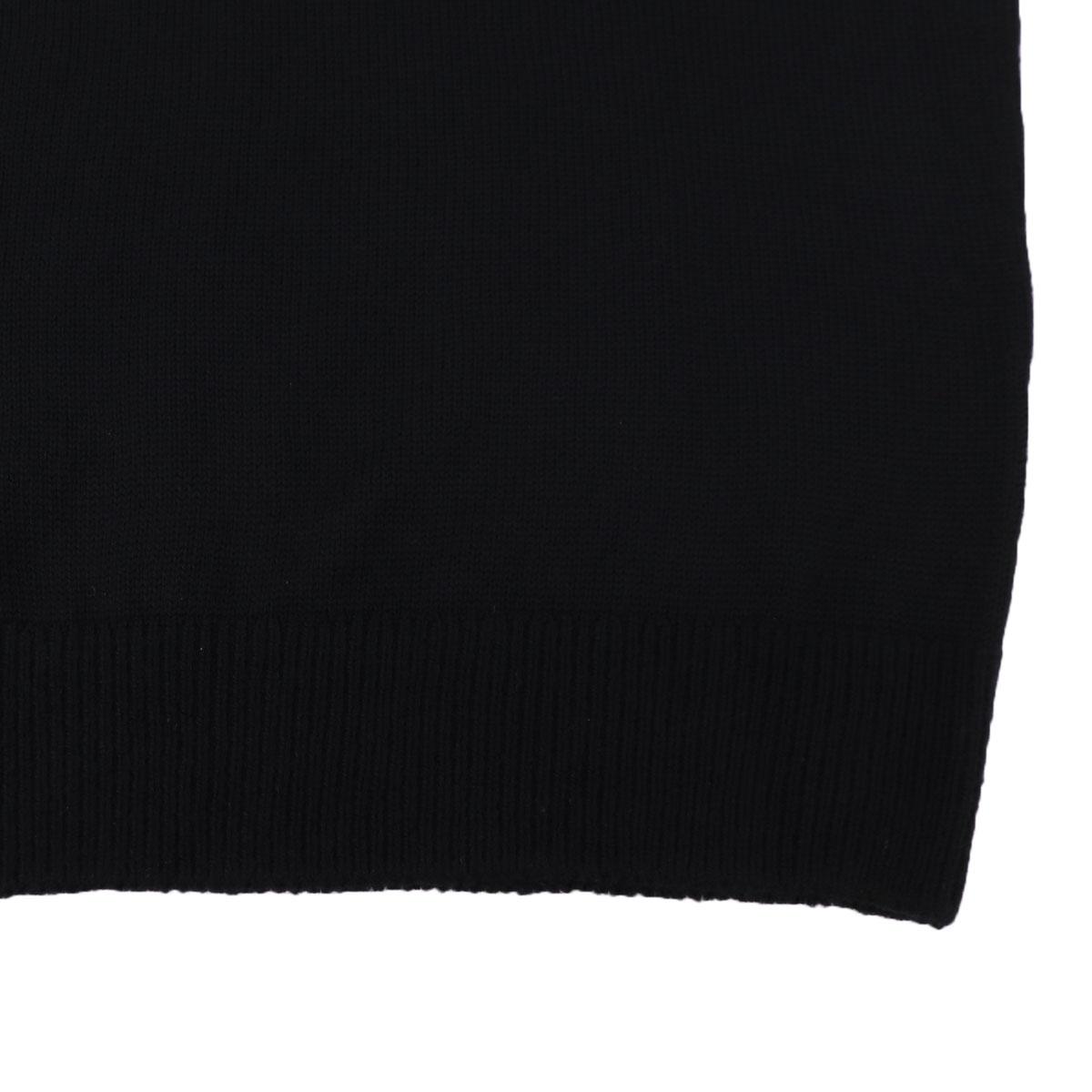 7G モックネックセーター SL190004 BLACK (ブラック)