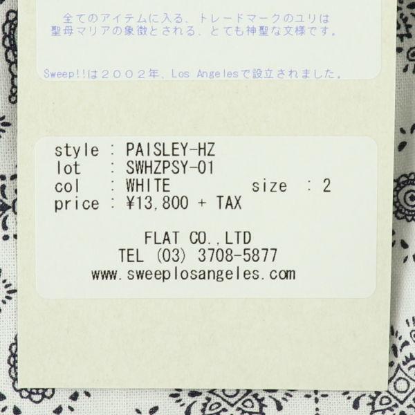 PAISLEY(WHITE)