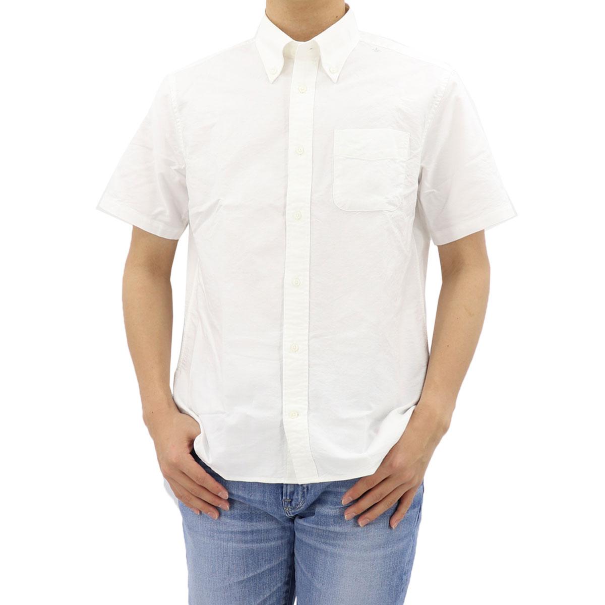 ★NEW!!定番 オックスフォード ボタンダウンシャツ 半袖(4colors)