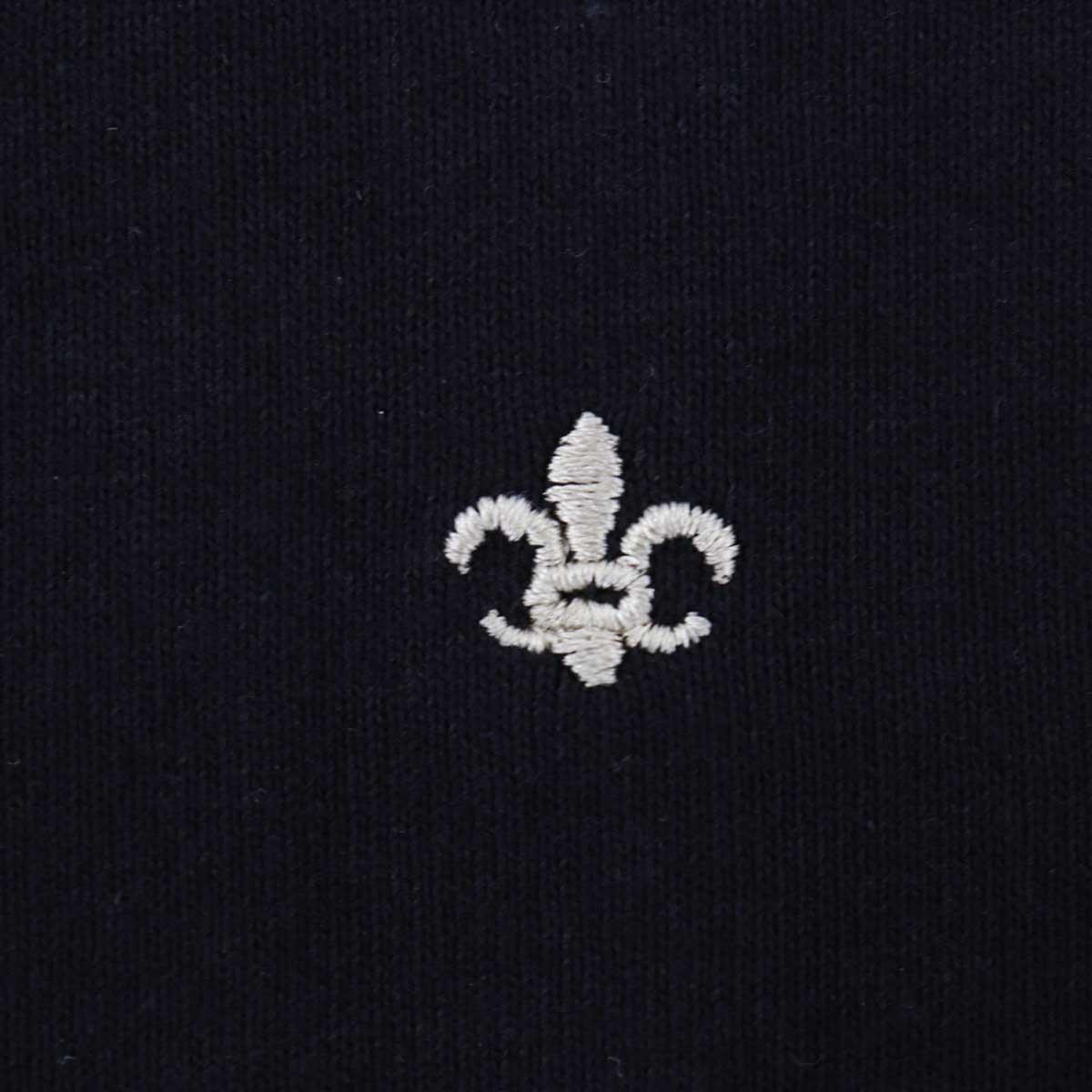 USAコットン クルーネック 半袖 Tシャツ BLACK(ブラック)