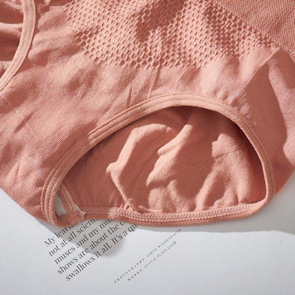 ショーツ レディース ショーツ 子宮温活 3D縫い目 無地 スタンダード パンツ プレーン マッサージデザイン レディース