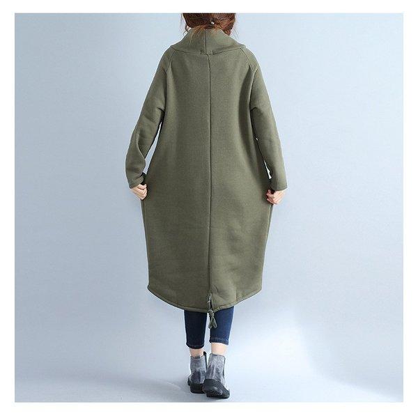 ワンピース マキシトレーナー 毛布 厚手 裏起毛 ロング丈 長袖 レディース 暖か ロング
