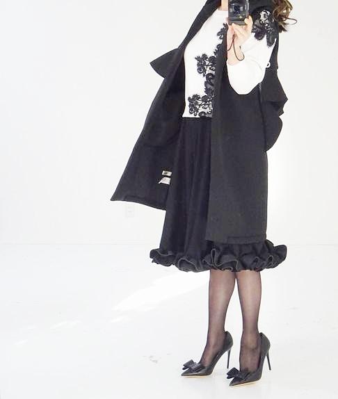 シリーズ200枚完売〜ラッフルフリルスカート