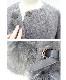 ○200着完売!最終再販)期間限定割引プライス×艶めきFOXスリボンアウター(ニュアンスグレー)
