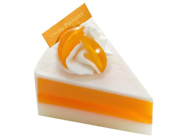 ケーキ石鹸(オレンジ)