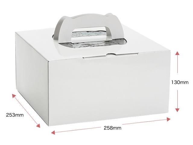 ホールケーキBOX(ケーキ石鹸5〜8個用)ラッピングなし