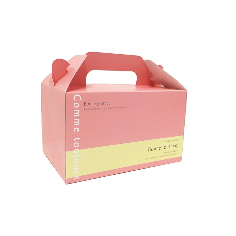 ケーキBOX・小・ピンク(ケーキ石鹸1〜2個用)ラッピングなし