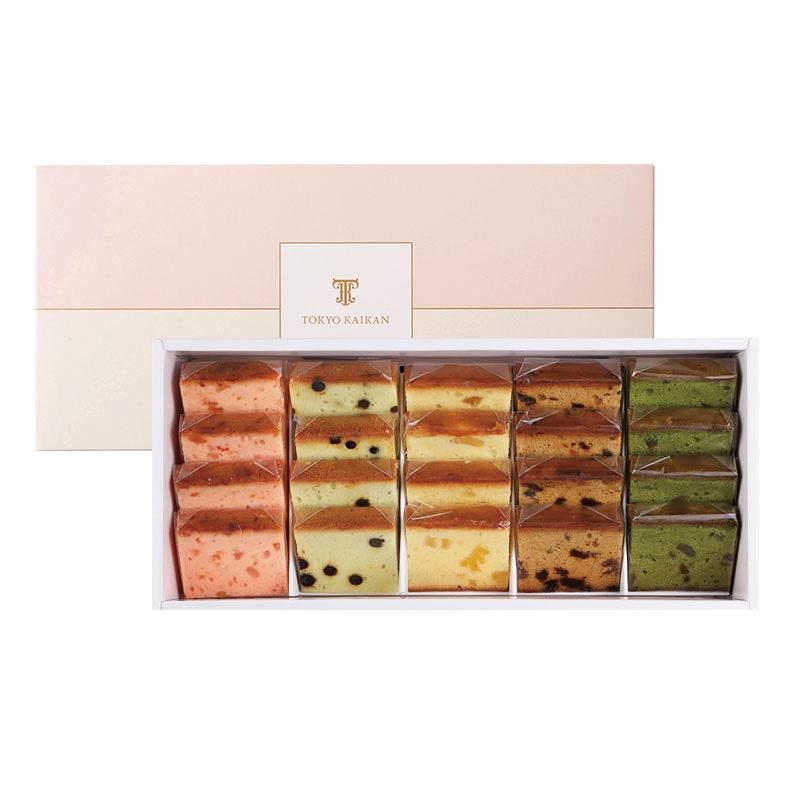 夏のフルーツケーキ5種詰め合わせ(20個入)