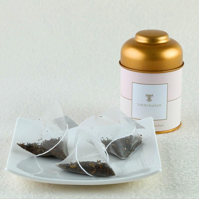 紅茶詰め合わせセット(オリジナル特選紅茶・夏のフルーツケーキ5種10個入り・プティガトーTK-15)
