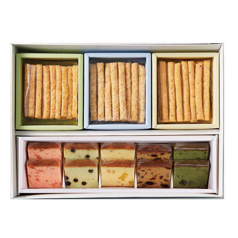 スティックパイ・夏のフルーツケーキセット(スティックパイ3種・夏のフルーツケーキ5種10個入り)