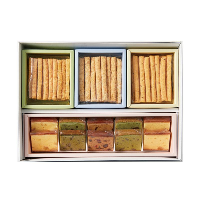 スティックパイ・フルーツケーキセット(スティックパイ3種・フルーツケーキ3種10個入り)