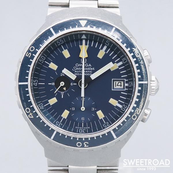 【OMEGA/オメガ】Seamaster 120/シーマスター120/Ref.176.004/ビッグブルー/Cal.1040/自動巻/1972年製/w-20036