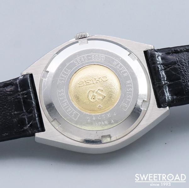 【GRAND SEIKO/グランドセイコー】56GS/Ref.5646-8000/オリジナルグレーダイヤル/セイコースタイル/カバードラグ/Cal.5646A/自動巻/1972年製/w-21747