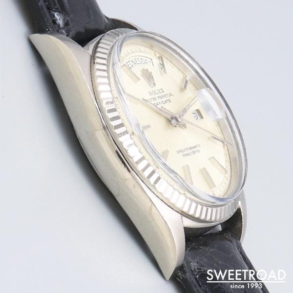 【ROLEX/ロレックス】Ref.1803/DAY-DATE/デイデイト/18KWG/18金ホワイトゴールド/オリジナルダイヤル/純正尾錠/Cal.1556/自動巻/1969年製/w-24348