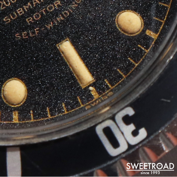 【TUDOR/チュードル/チューダー】SUBMARINER/サブマリーナ/Ref.7928/バラサブ/6ドット/ミニッツサークル/PCG/Cal.390/自動巻/1961年製/w-24472