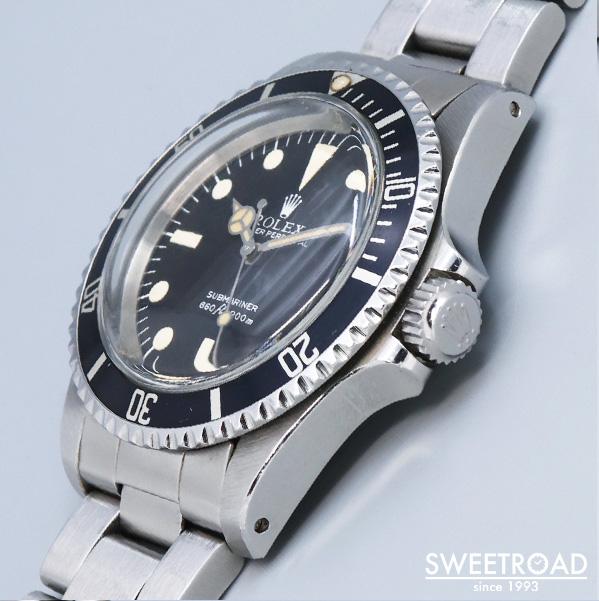 【ROLEX/ロレックス】Submariner/サブマリーナ/Ref.5513/マキシダイヤル/ノンポリッシュ/Cal.1520/1979年製/w-22099GNZ