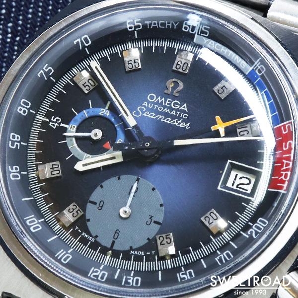【OMEGA/オメガ】Seamaster Chronograph/シーマスター・クロノグラフ/ヨットタイマー/レガッタタイマー/Ref.176.010/Cal.1040/1973年製/w-23837