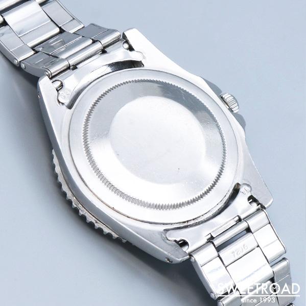 銀座店取扱品【ROLEX/ロレックス】GMTマスター/Ref.1675/ブラックミラーダイヤル/ラジアルダイヤル/PCG/ヒラメ/アンダーバー/小針/1963年製/w-22110GNZ